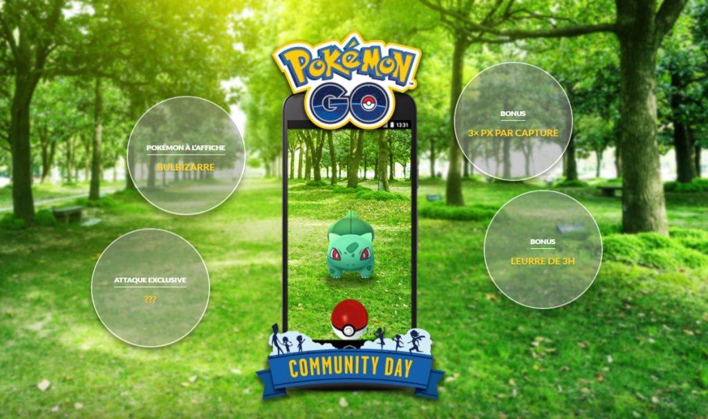 Pokemon Go Community Day Bulbizarre
