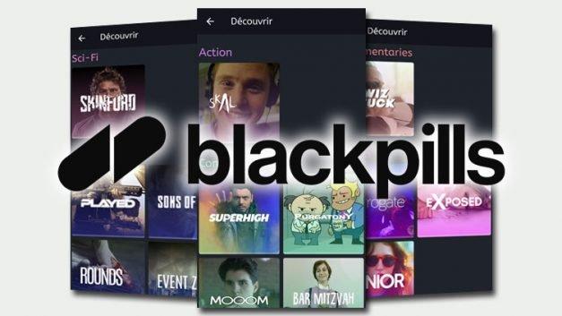 Blackpills chaine de Tv sur mobile