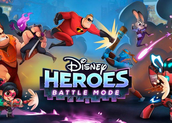 Disney Heroes Battle Mode jeu mobile Disney Android iOS