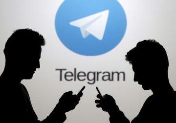 Telegram application mobile