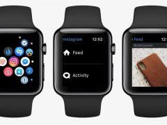 C'est la fin d'Instagram sur l'Apple Watch !