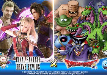 FFBE et Dragon Quest