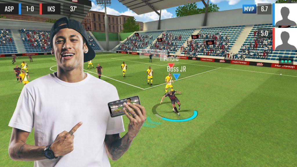 Neymar jeu mobile