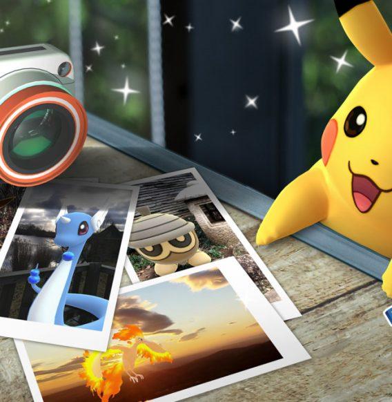 Cliché Go : Prendre des photos en réalité augmenté sur Pokemon Go