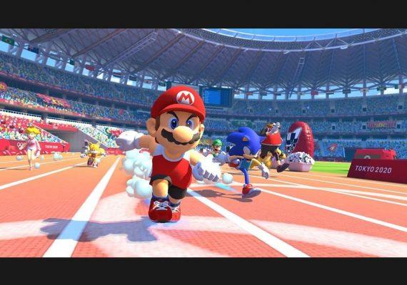 Mario et Sonic aux JO